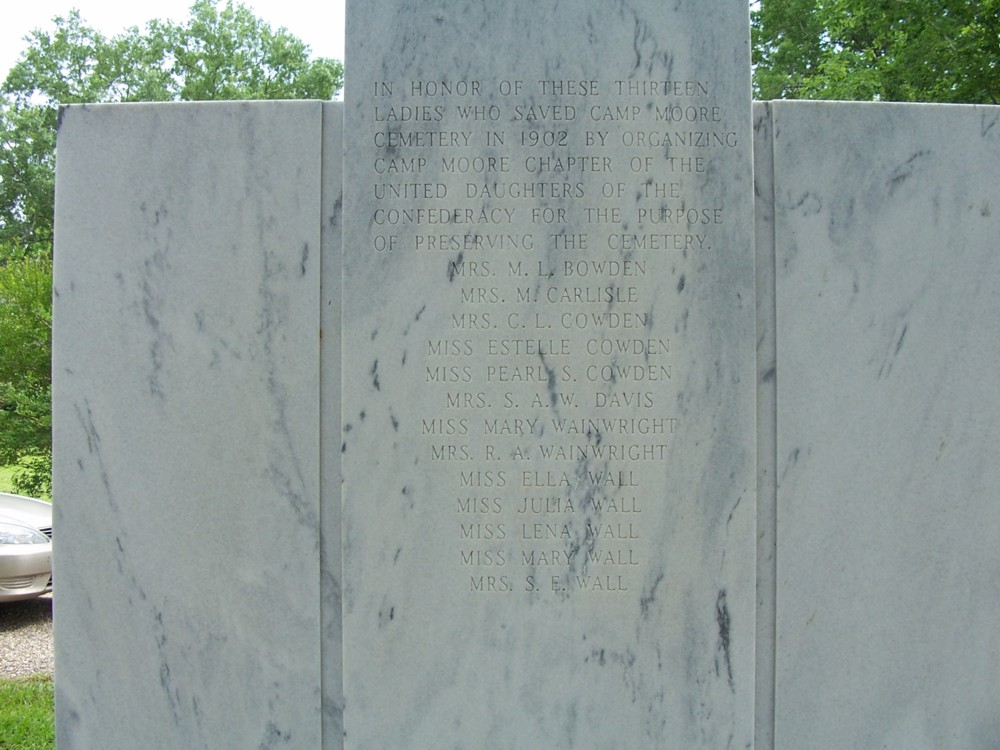 UDC Monument at Camp Moore